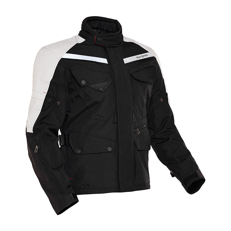 Darcha Jacket Black White