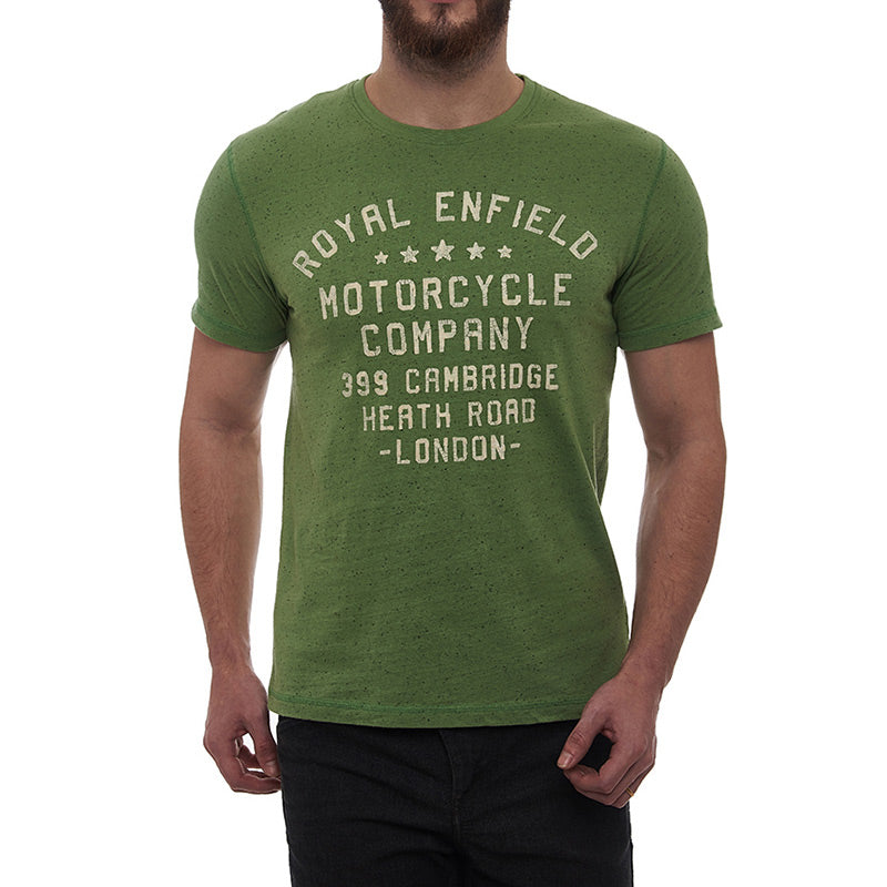 Destination London T-Shirt Drab Green - Royal Enfield