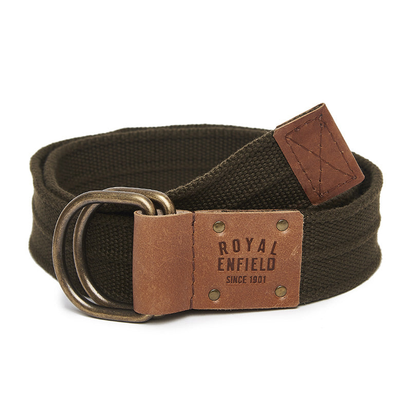 Double D Belt Green Brown