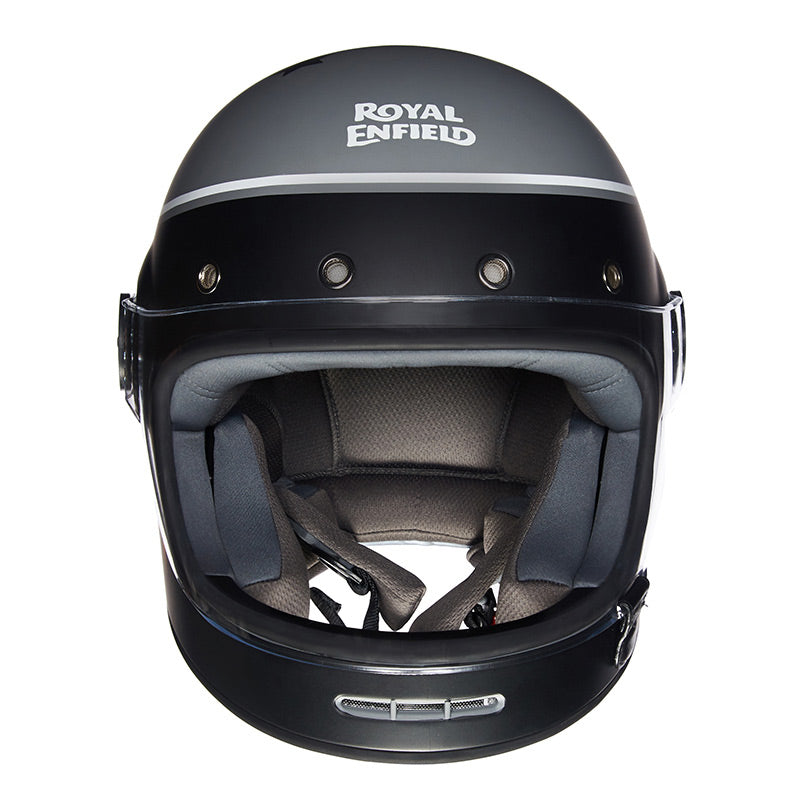 DRIFTER HELMET RIDE MORE Black Grey