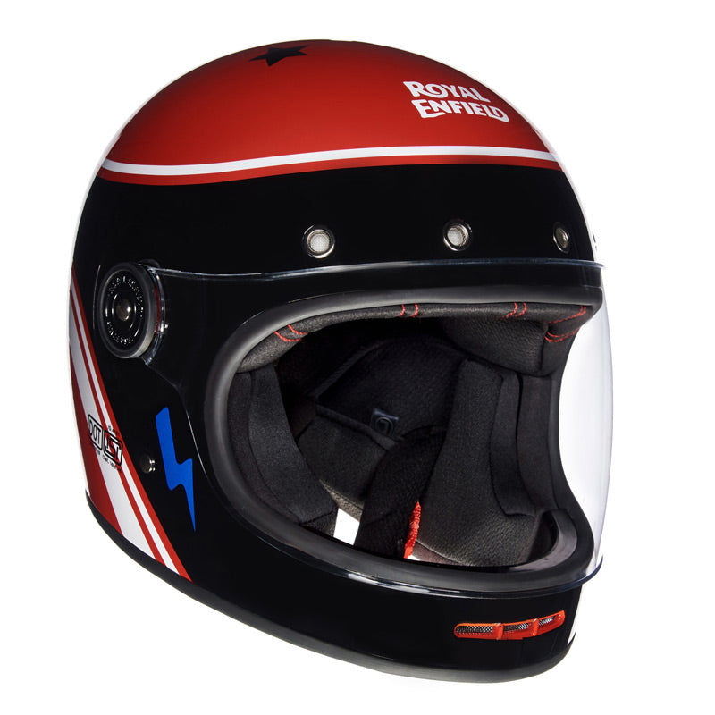DRIFTER HELMET RIDE MORE Black Red