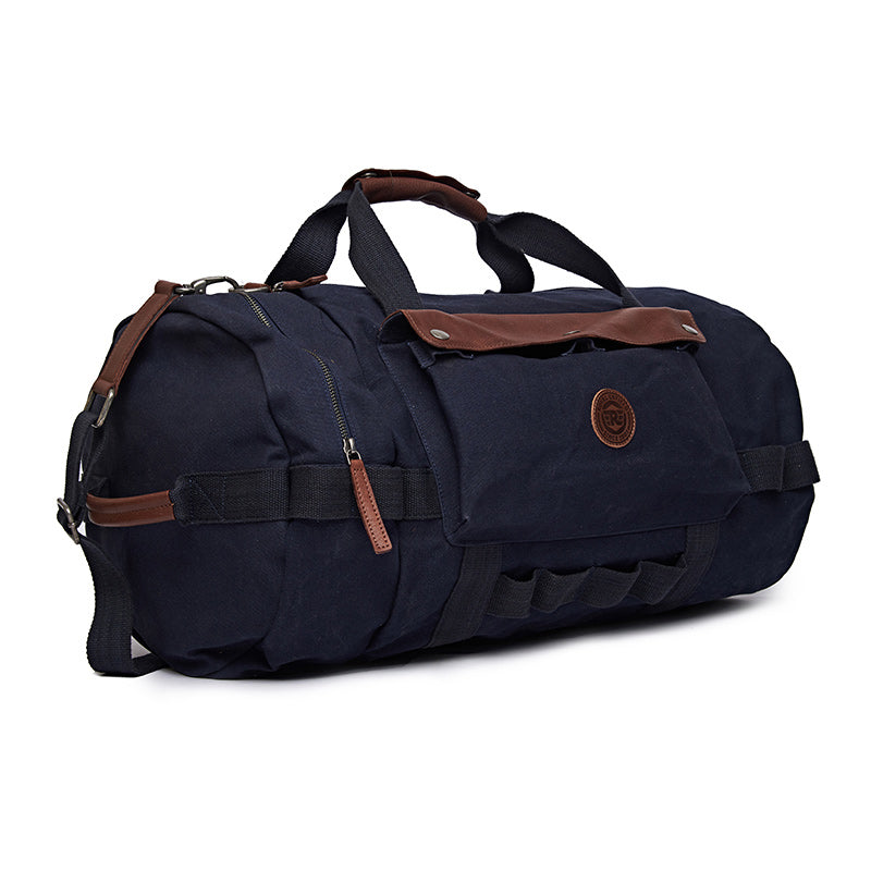 Flying Flea Duffel Bag Navy Blue