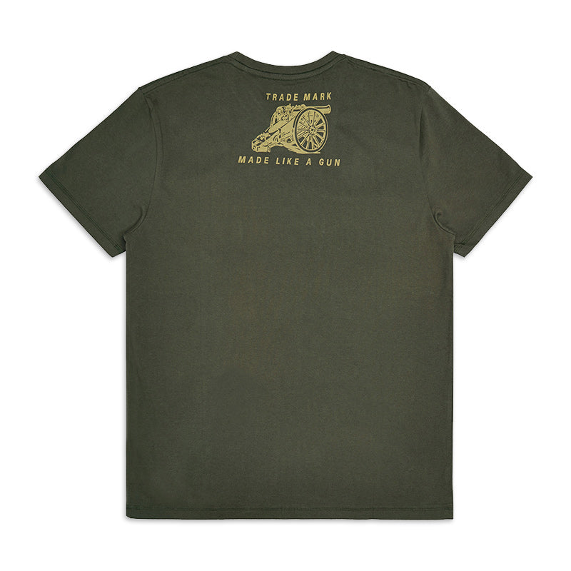 Flying Flea Legend T-Shirt Olive Green - Royal Enfield