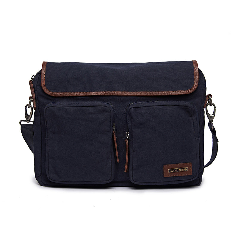 Flying Flea Messenger Bag Navy Blue - Royal Enfield