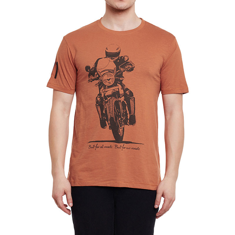 Trail Rider T-Shirt Rust Orange