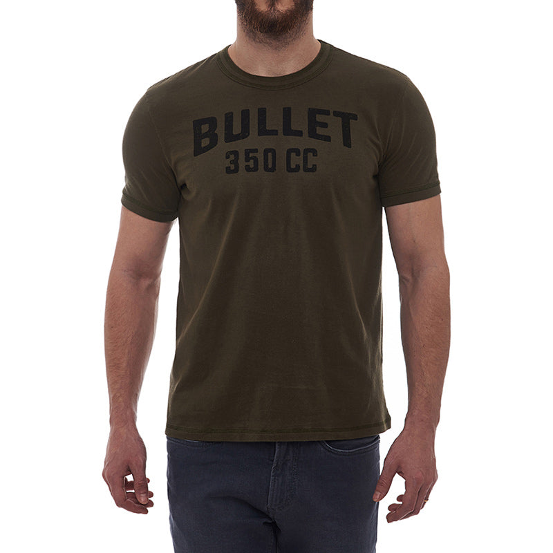 Isdt Winner T-Shirt Olive Green - Royal Enfield