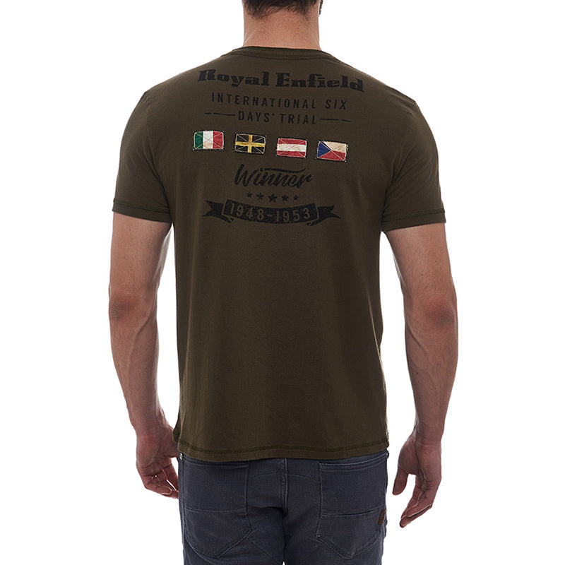 Isdt Winner T-Shirt Olive Green