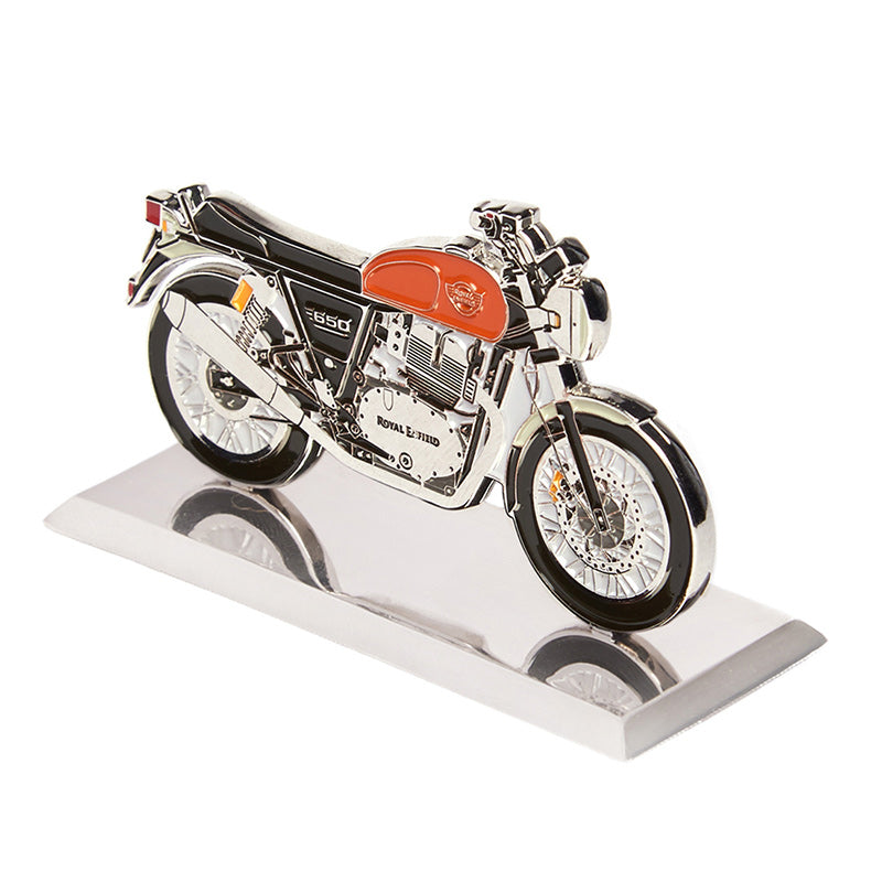 Interceptor 650 2D Scale Model Crush Orange