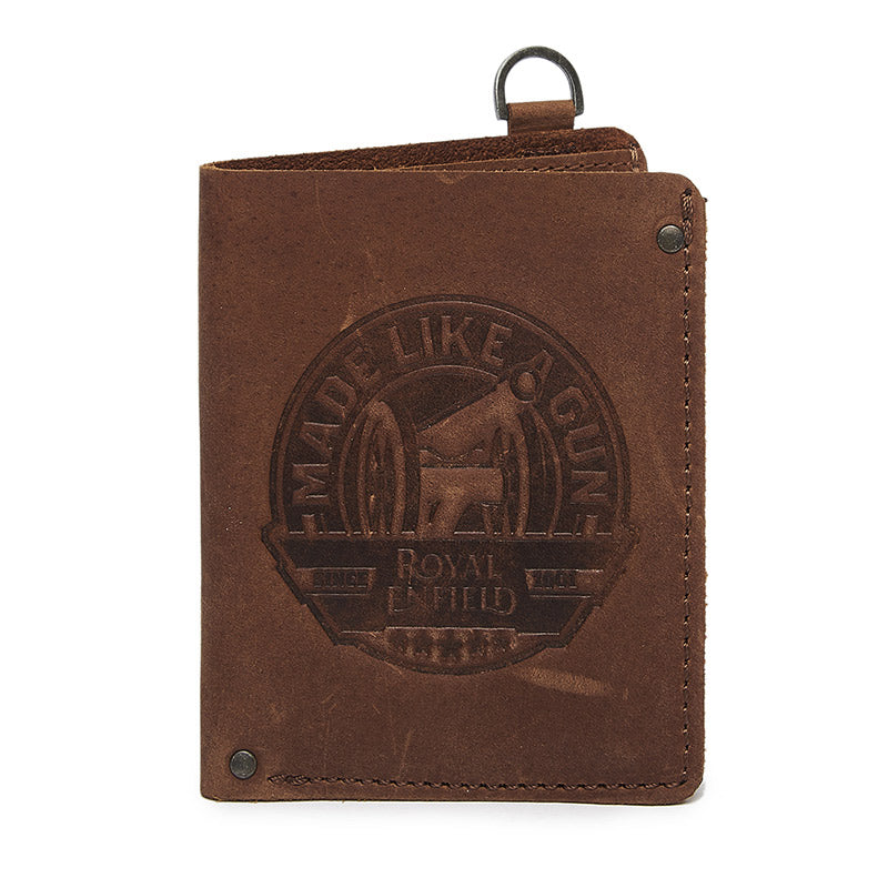 Mlg Bifold Wallet Dark Brown