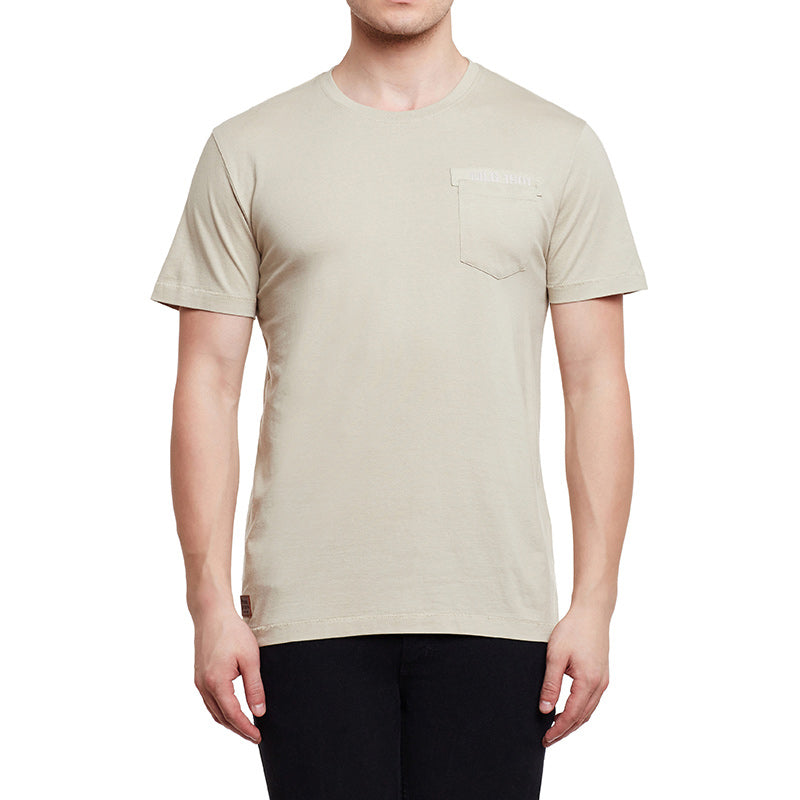 Mlg Pocket T-Shirt Beige White