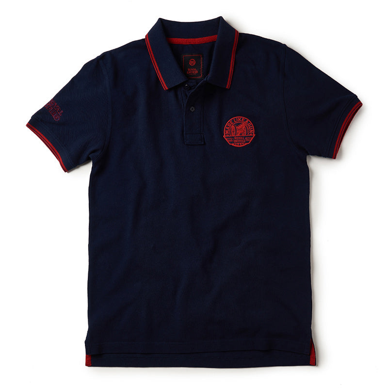 Mlg Polo T-Shirt Navy Blue