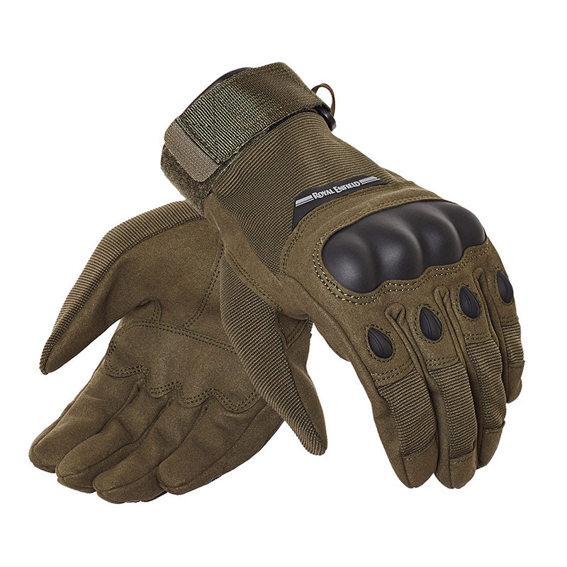 Military Gloves - Olive Green