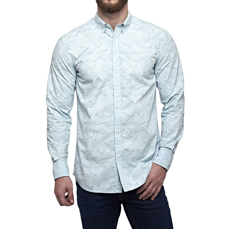 Mountainwaves Shirt Marine Blue