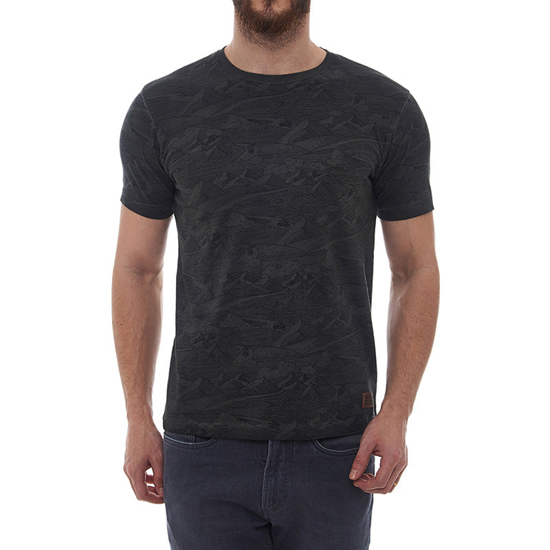 Mountainwaves T-Shirt Dusk Grey