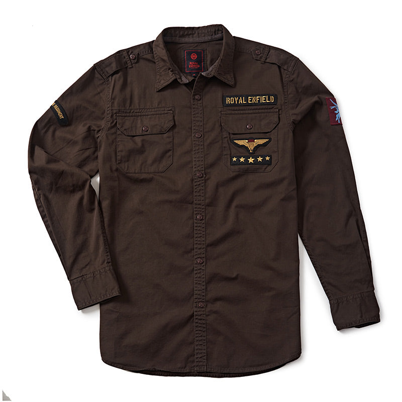 Parachute Regiment Shirt Service Brown