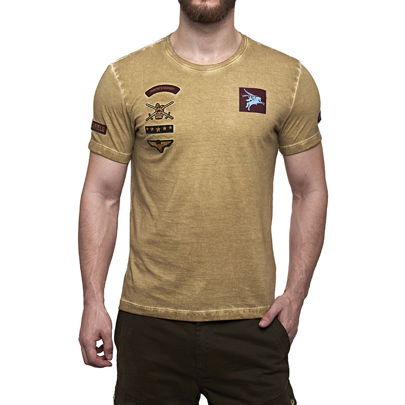 Parachute Regiment T-Shirt Musterd Yellow