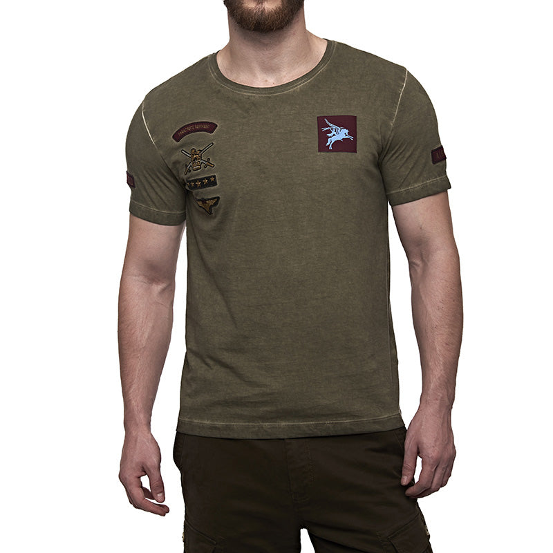 Parachute Regiment T-Shirt Olive Green