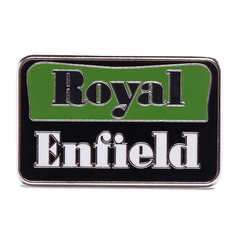 1948 Logo Lapel Pin Black Green - Royal Enfield