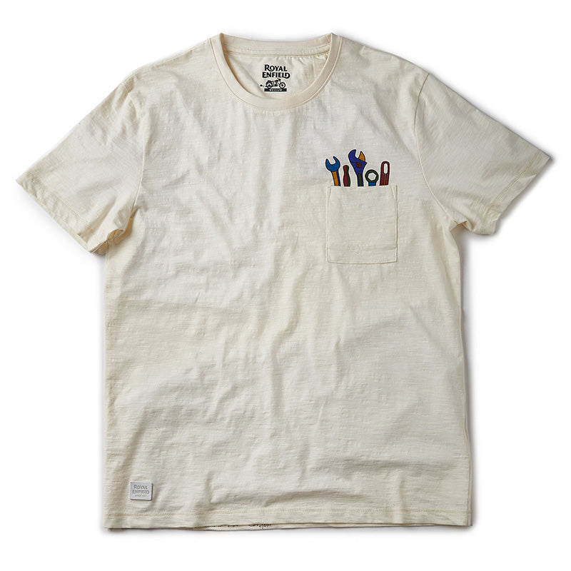 Pocket Tools T-Shirt Off White