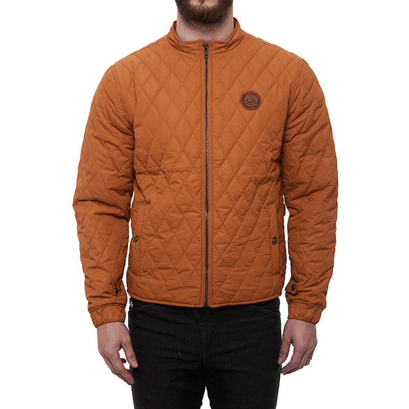 Puffer Jacket Orange Crush