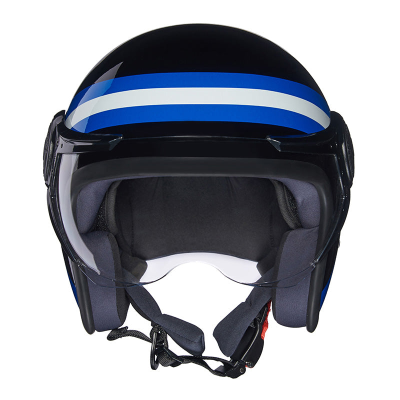 Remc Road Helmet Black Blue