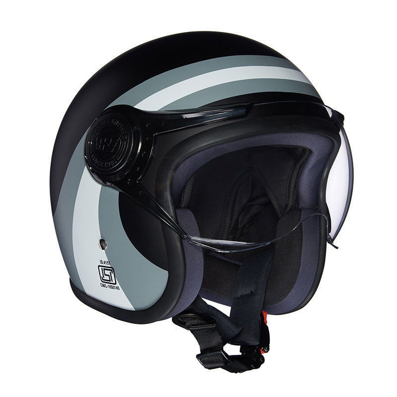 Remc Road Helmet Black Grey