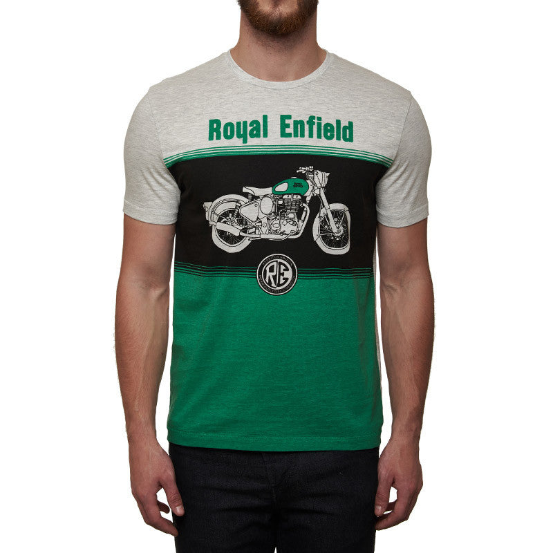 Redditch Motorcycle Tee Green