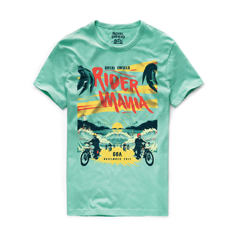 RIDER MANIA 2017 T-SHIRT GOA GREEN  1