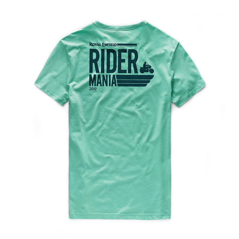 ... RIDER MANIA 2017 T-SHIRT GOA GREEN 2