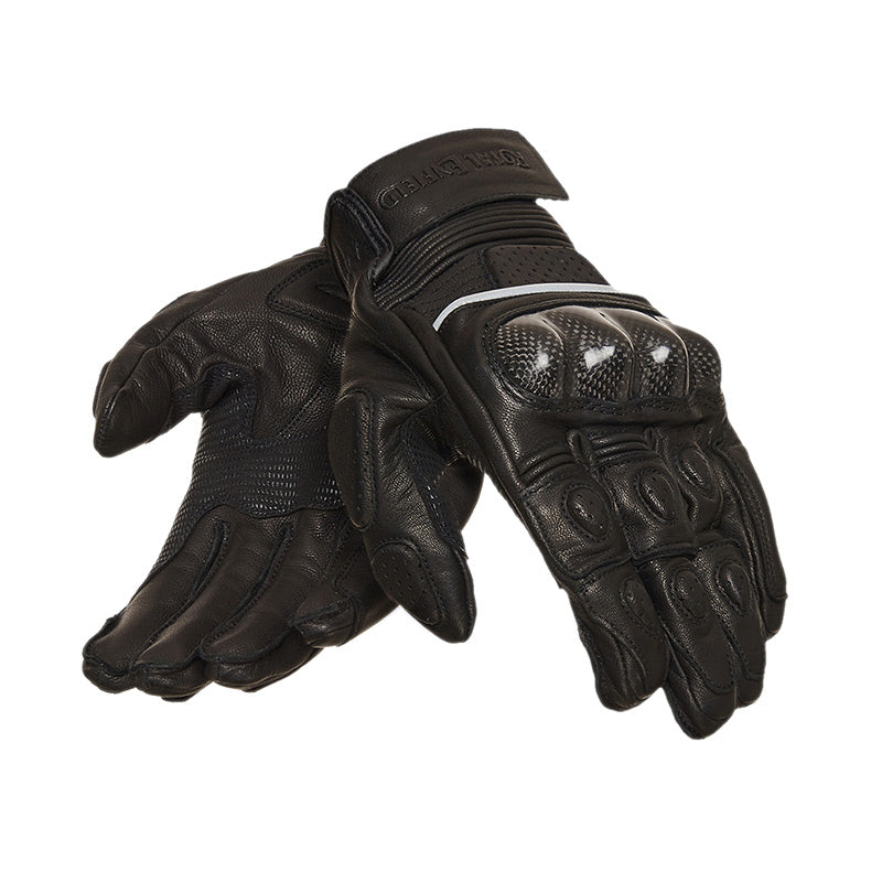 Short Riding V2 Gloves Black