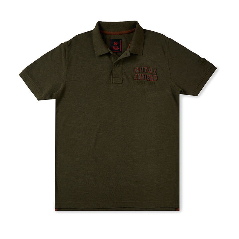 Since 1901 Polo T-Shirt Olive Green