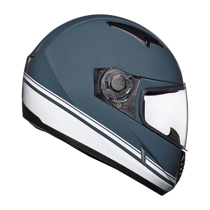 Street Pin Stripe Helmet Grey