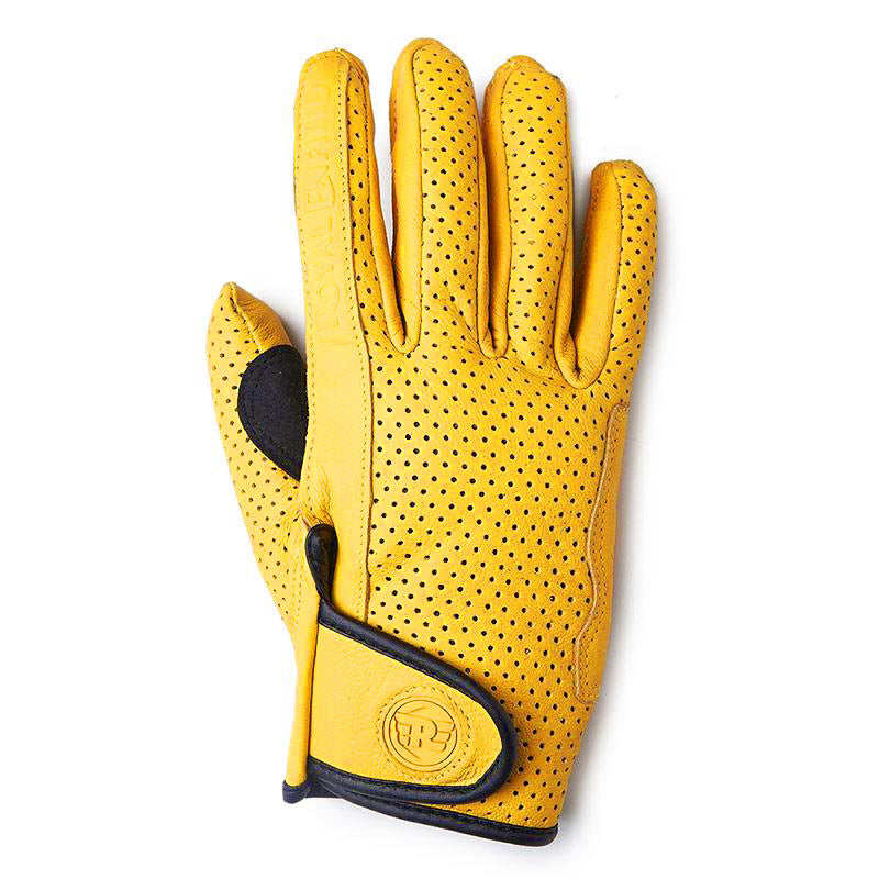 Summer Riding Gloves Yellow