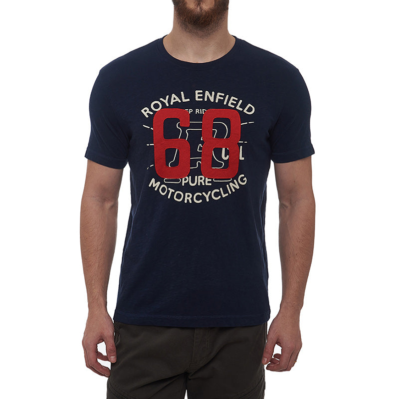 Summer Of 68 T-Shirt Navy Blue