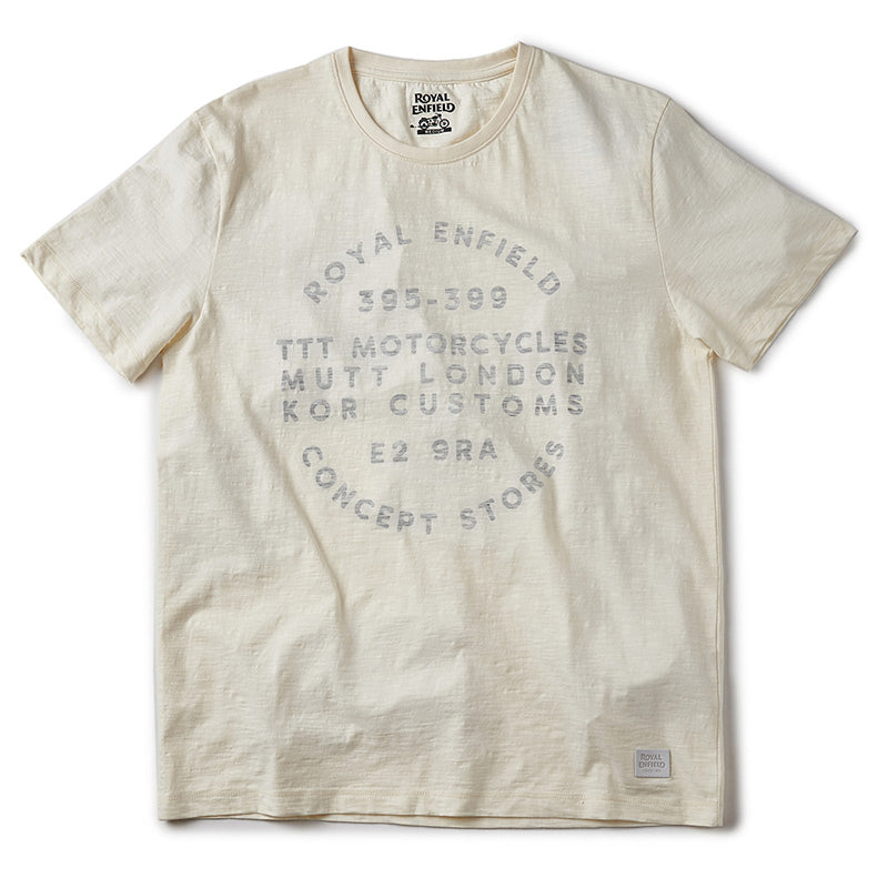 Ttt Motorcycles London T-Shirt Off White