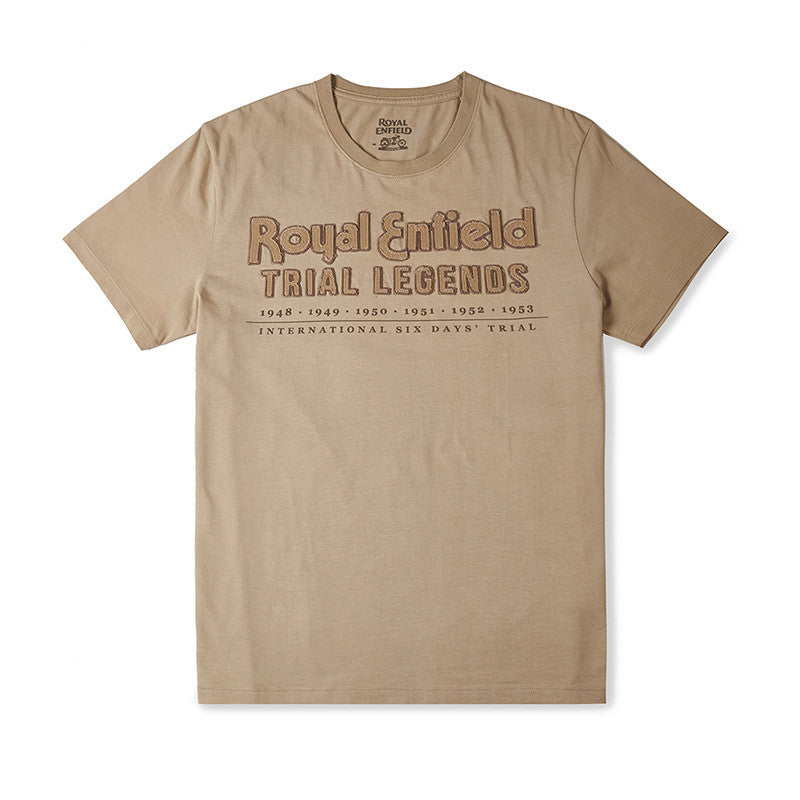 Trial Legends T-Shirt Khaki Brown