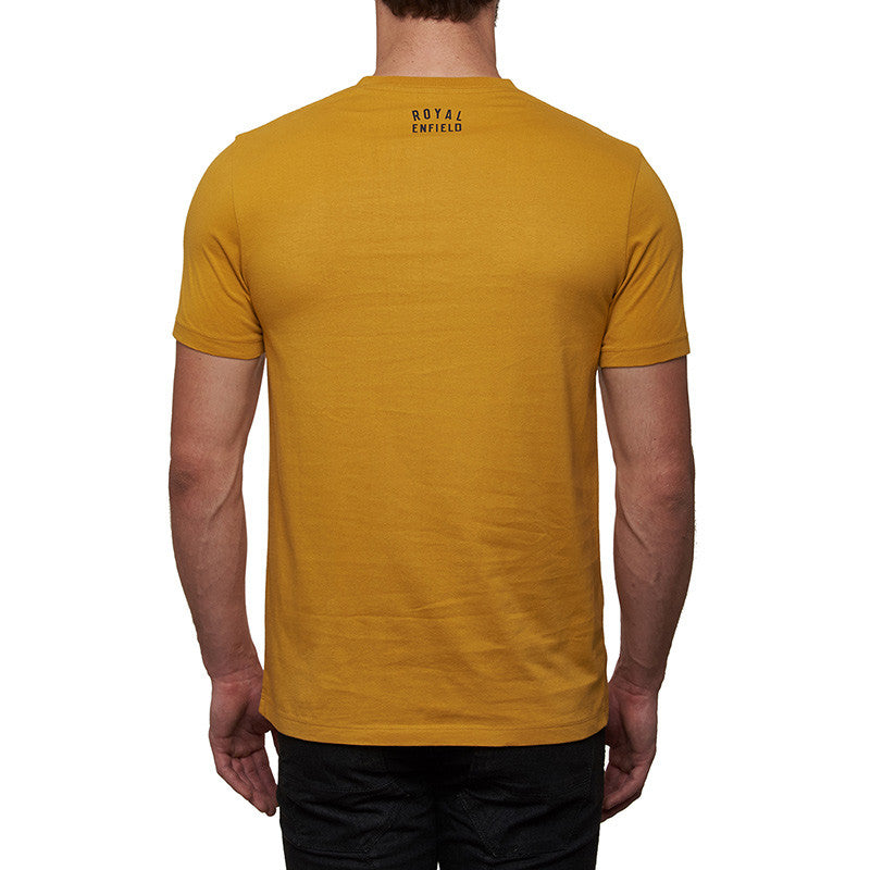 Trial Legends T-Shirt Mustard Yellow