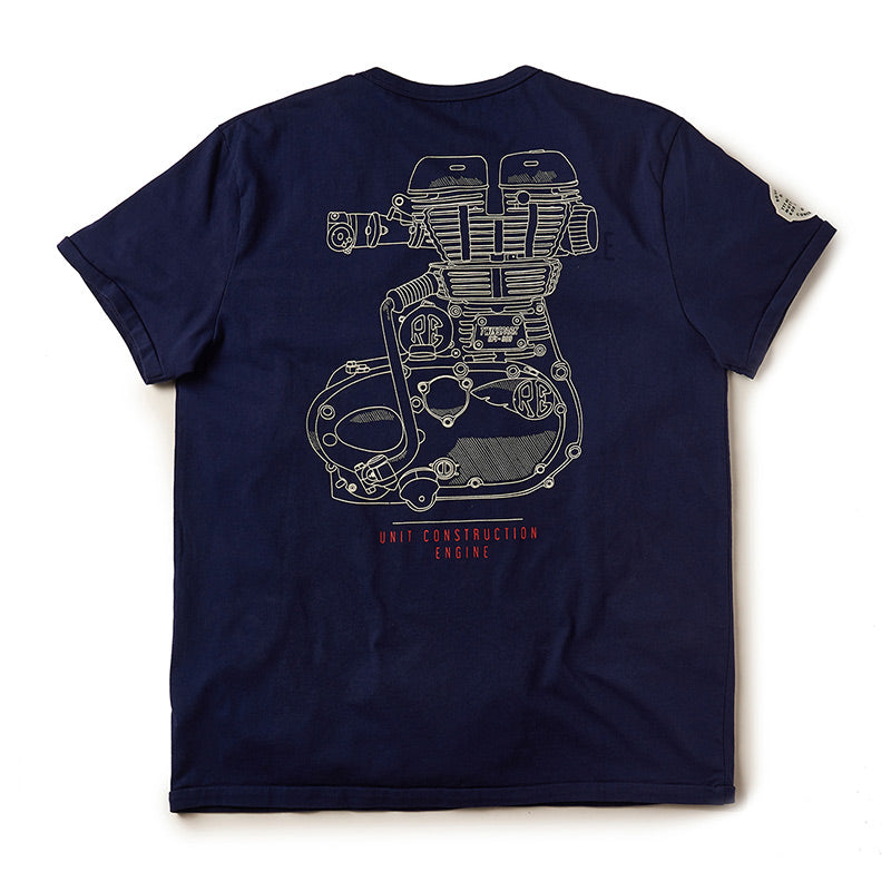 Uce Graphic T-Shirt Indigo Blue
