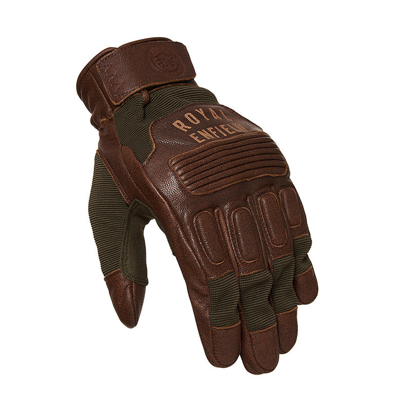 Urban Crewman Gloves Brown Green