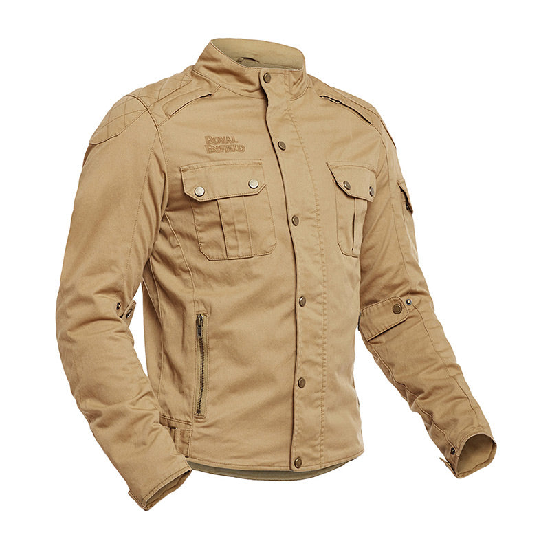 urban scout jacket khaki brown royal enfield