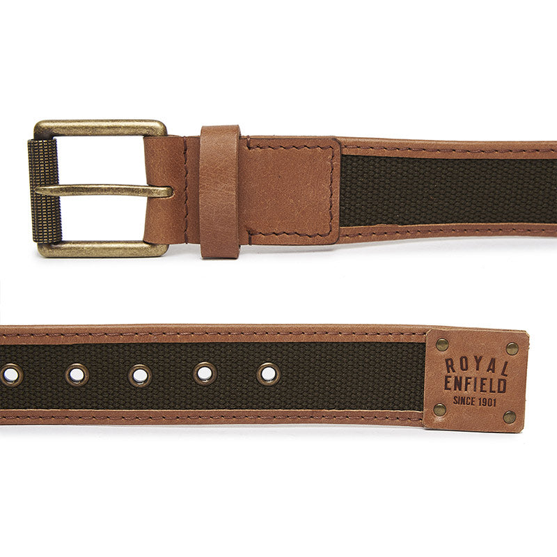 Webbing Belt Olive Green