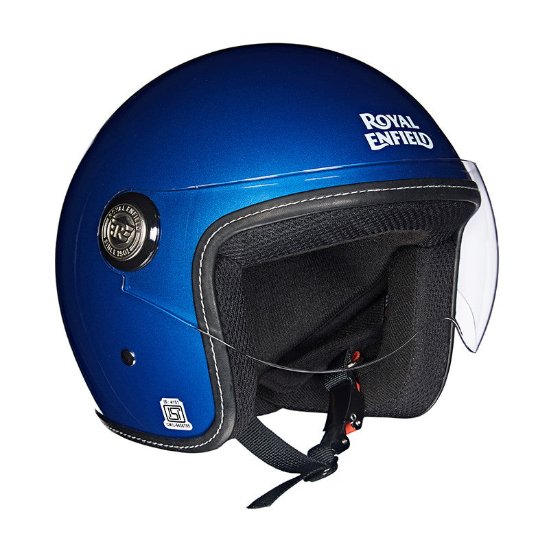 650 TWIN HELMET Gloss Electric Blue