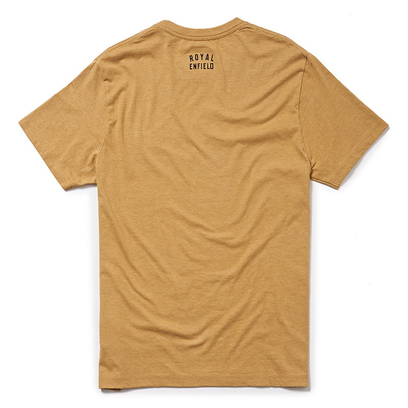 ADVENTURE LEXICON T-SHIRT - Mustard Yellow