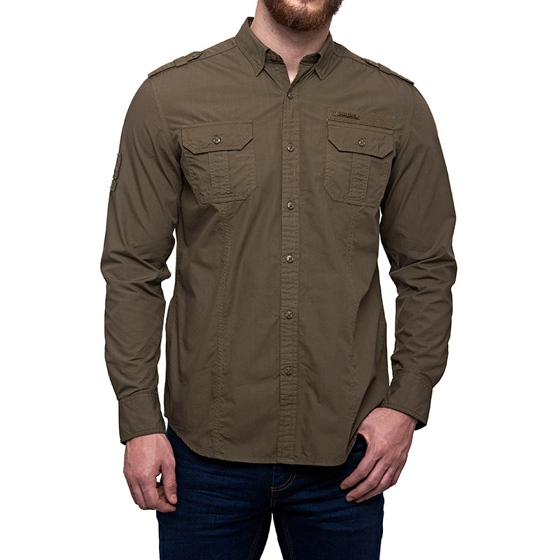 Army Fatigue Shirt Drab Olive
