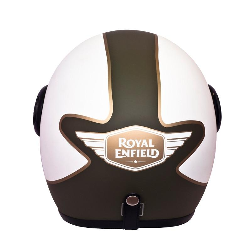 Big Wing Center Stripe Helmet Matt Olive