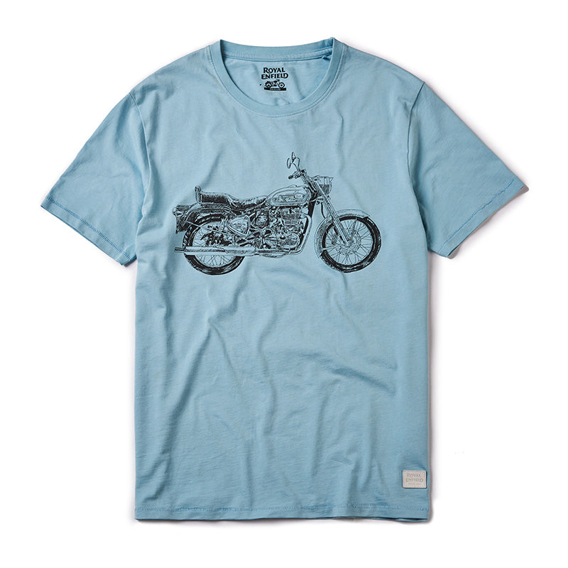 BULLET CROSSHATCH T-SHIRT
