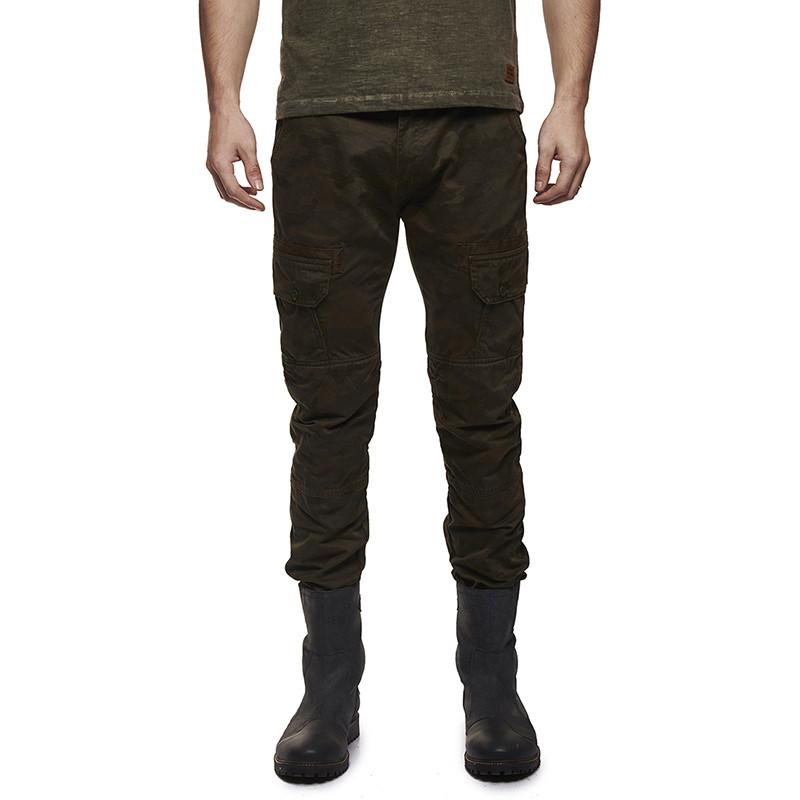 Royal Enfield Camo Cargo Pants Camo Green