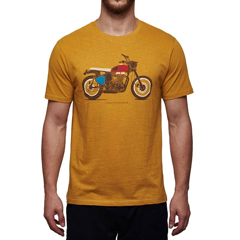 Classic 500 Re-Imagined T-Shirt Yellow