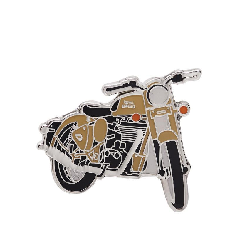 Royal Enfield Classic Desert Storm Lapel Pin Olive Green