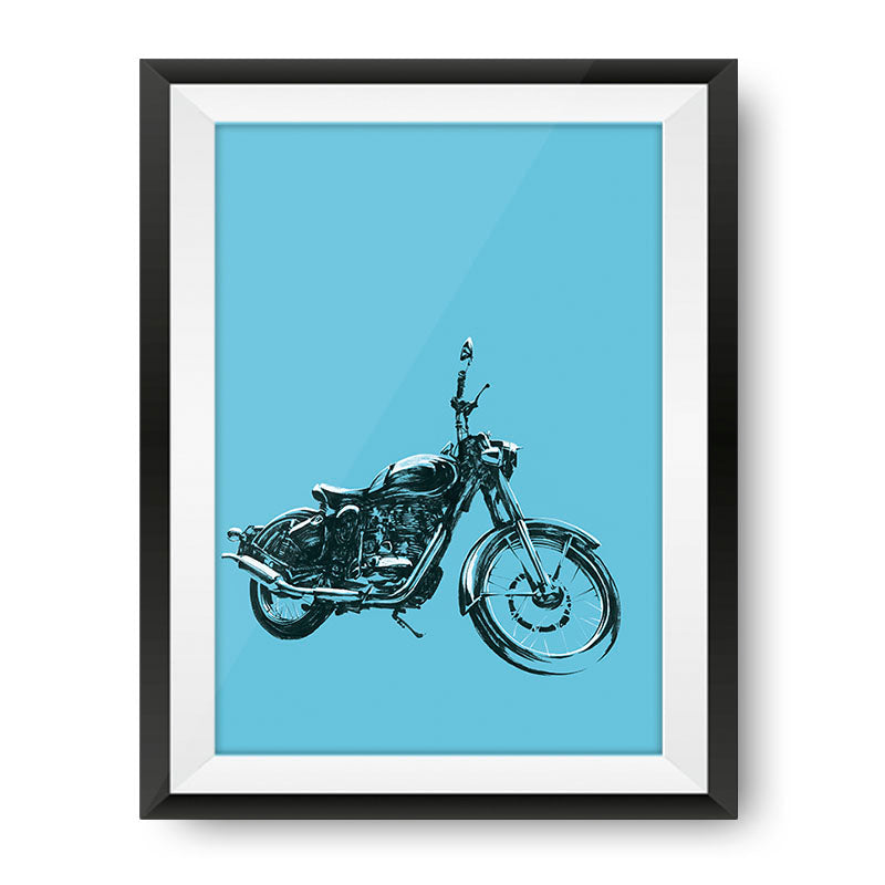 Classic Masterpiece Poster - Royal Enfield